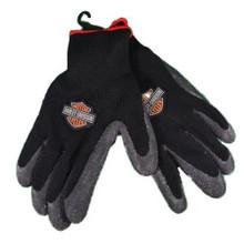 Harley Davidson Rubber Coated Work Gloves Large