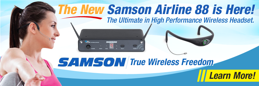 Samson Airline 88 Wireless Headset System