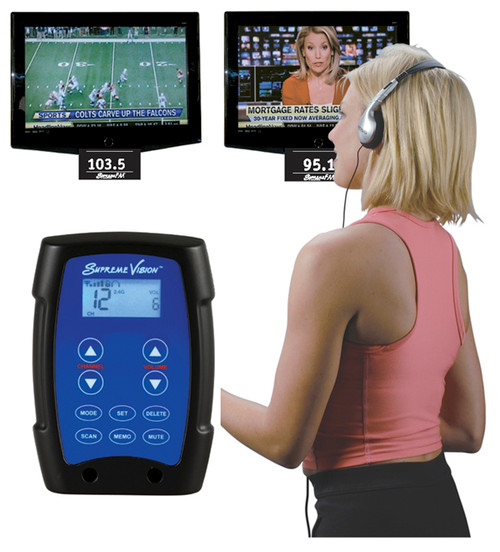 The Entertainer™ 3-Band Wireless Entertainment System (Easy installation on stationary fitness equipment).