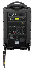 Galaxy Audio GAL10HH1CD TV10 AC/Battery-Powered 150 Watt Portable Sound System - Basic System + CD + 1 Handheld System