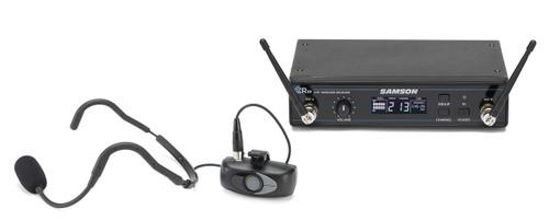 Samson Airline ATX Micro Wireless Mic System with Samson QEP3 Fitness Headset