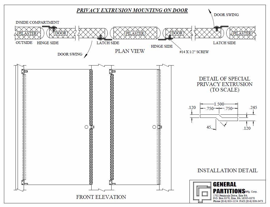 Bathroom Stall Privacy Strip My Web Value - Bathroom privacy partitions