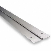 "57 1/2"" Continuous Stainless Steel Piano Hinge (P1500)"