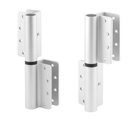 Aluminum Wrap Around Hinge SPC AL General Partitions - Bathroom partition hinges