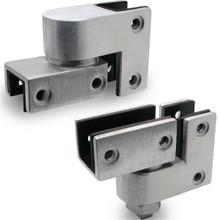 """JN7813 Pivot Hinge Set (3/4"""" OR 1"""" Door & Post) Stainless"""