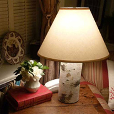 Birch Table Lamp