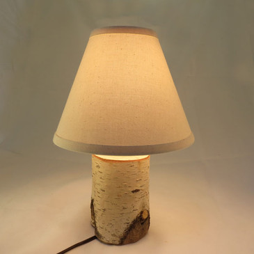 Birch Accent Lamp