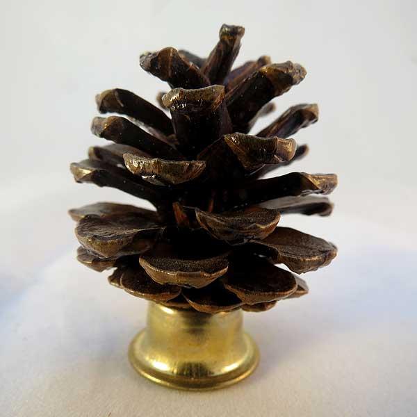Pine Cone Lamp Finial Rustic Workbench
