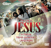 "NAL - ""JESUS"" DVD in 16 Native North American Languages, (100 DVDS ($1.00/DVD)"