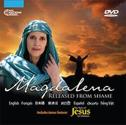 """Magdalena Released From Shame"" V3 DVD in 8 Languages (W3L), 100 Pack"