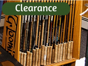Used clearance and sale fly fishing equipment free for Fly fishing closeouts