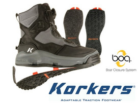 Korkers Darkhorse Wading Boot - King-on & Felt Soles