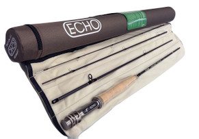 "Echo Carbon 2Wt 7'3"" 4pc, new, CLEARANCE"
