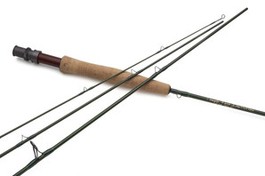 "Temple Fork Finesse Series Fiberglass 4/5 Wt 7'6"" 3 piece"