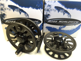 Ross Flyrise 2 reel with spare spool, for 4-6 wt lines, new, CLEARANCE