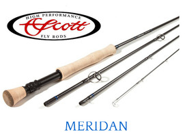 "Scott Meridian 908/4 - 8Wt 9'0"", 4 piece."