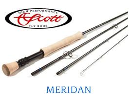 "Scott Meridian 909/4 - 9Wt 9'0"", 4 piece."