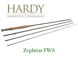 Hardy Zephrus FWS 8' 4 weight, 4 piece
