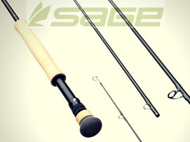 Sage X 591-4, 9ft 5wt, 4 piece, with fighting butt