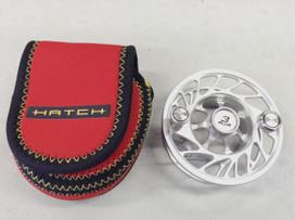 Hatch Finatic 3 plus spool, silver/black, large arbor, for 3-4 lines, NEW Clearance