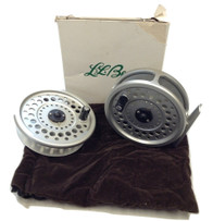 L.L. Bean Guide, Made in England, for 5-6 lines, with Spare spool, USED Good Conidtion