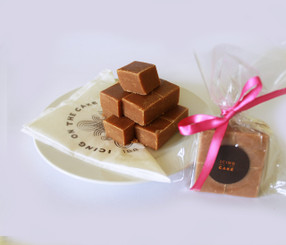 Vanilla Toffee Fudge