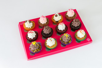Mini Cupcakes Assortment Box