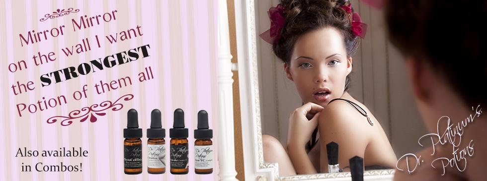 Dr. Platinum Potions, Strongest skin care, professional skin care,