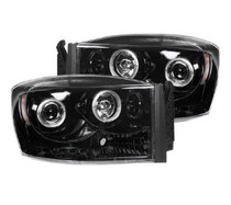 RECON SMOKED PROJECTOR HEADLIGHTS (06-09 DODGE RAM)