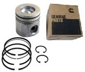 CUMMINS OEM PISTON KIT .020 OVERBORE (03-04 CUMMINS)