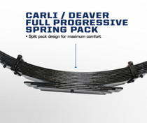 "CARLI SUSPENSION 6"" Progressive Full Leaf Springs(03-09 RAM)"