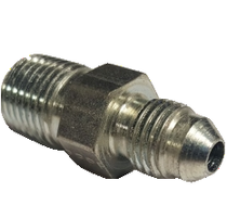 "STAINLESS DIESEL -4 JIC TO 1/4"" NPT FITTING"