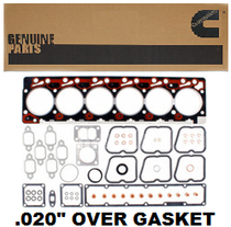 "CUMMINS 4089651 Upper Engine Gasket Kit w/ .020"" Over Head Gasket (89-98 5.9L)"