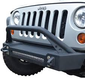 ACE ENGINEERING PRO SERIES FRONT BUMPER W/BULL BAR AND 20IN LIGHT BAR PROVISION BLACK - JK