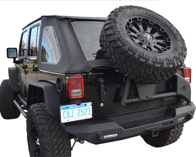 ACE ENGINEERING JK SLANT BACK TIRE CARRIER