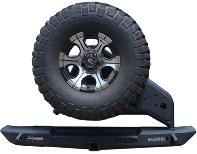 ACE ENGINEERING PRO SERIES REAR BUMPER W/TIRE CARRIER - TJ