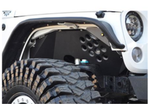 ACE ENGINEERING ALUMINUM INNER FENDERS WITH SIDE MARKER LIGHT - JK