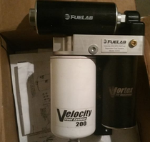 FUEL LABS 30303 VELOCITY 200 IN-LINE HIGH PERFORMANCE LIFT PUMP