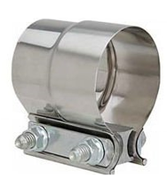 STAINLESS DIESEL EXHAUST BAND CLAMP (STAINLESS) (UNIVERSAL)