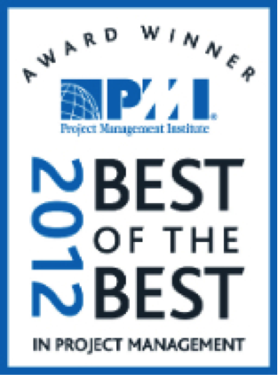 2012 PMI's Best of the Best Award