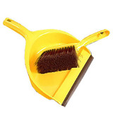 Dustpan Set Yellow