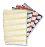 Dishcloths Striped Green