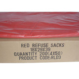 Red Sacks 18x29x39 Standard
