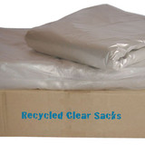 100% Recycled Clear Sack 18x29x38