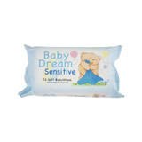 Baby Dream Sensitive Wipes 18x16cm - Pack of 72