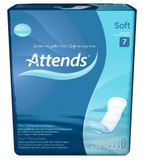 Attends Soft 7 - Pack of 34 Incontinence Pads