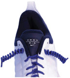 Round Elastic Shoelace - White