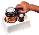 Spill-Not Jar and Bottle Opener