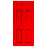 Door Decal - Red