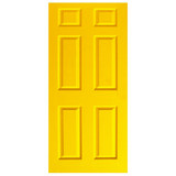 Door Decal - Yellow